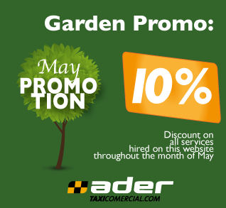 May Promotion. Discount on all services hired on this website throughout the month of May